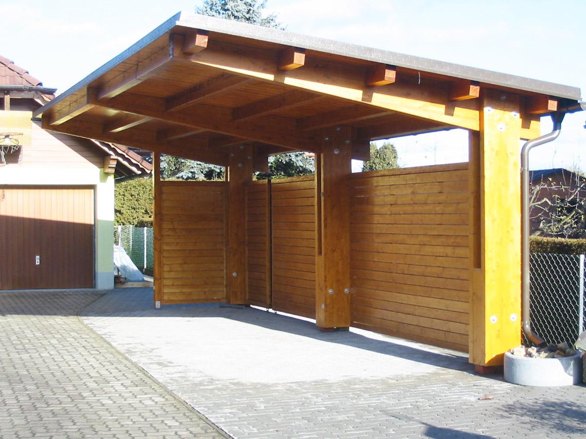 lappi lappi holzbau aus der steiermark carport. Black Bedroom Furniture Sets. Home Design Ideas