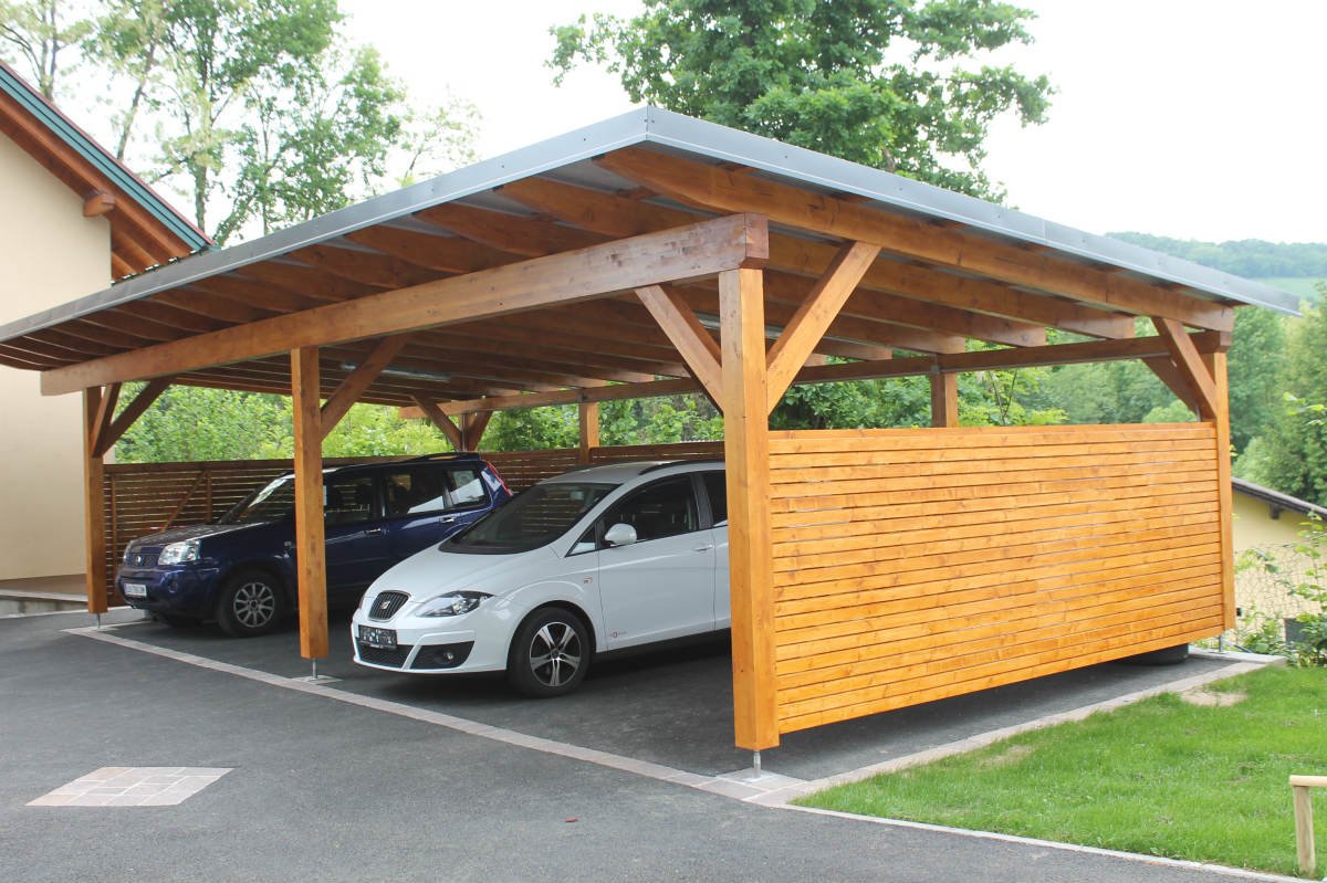 lappi lappi holzbau aus der steiermark carport. Black Bedroom Furniture Sets. Home Design Ideas