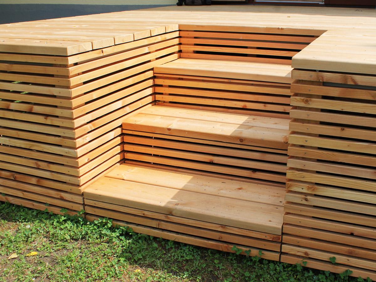 lappi lappi holzbau aus der steiermark terrassenb den. Black Bedroom Furniture Sets. Home Design Ideas